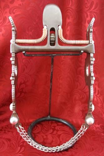 Silver Bits - Spade Mouthpiece